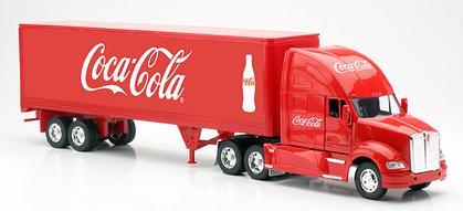 Coca-Cola - Kenworth T700 Tractor Trailer