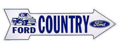 Ford Country - Metal sign 20 '