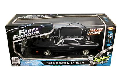 Dodge Charger 1970 Fast and Furious Radio Control
