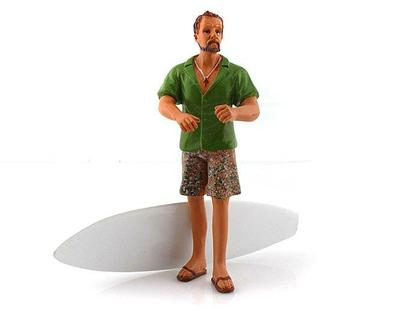 Figure Gary Surfer Collection with surf board