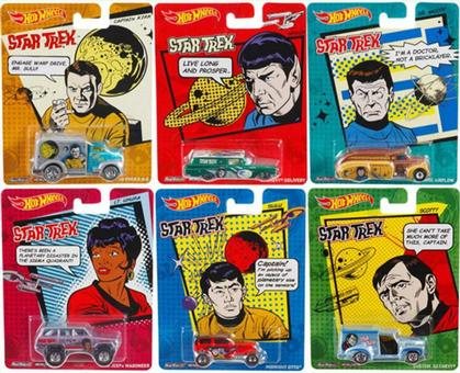 6 Cars Set Star Trek