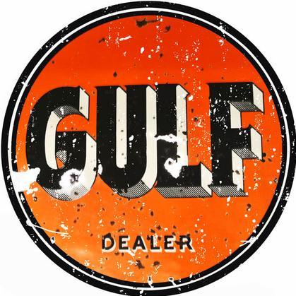 Gulf Gasoline Sign 18
