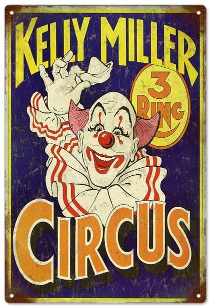 Kelly Miller 3 Ring Circus