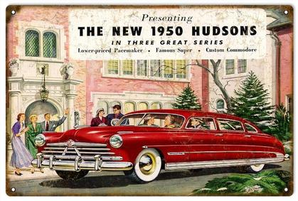 The New 1950 Hudsons
