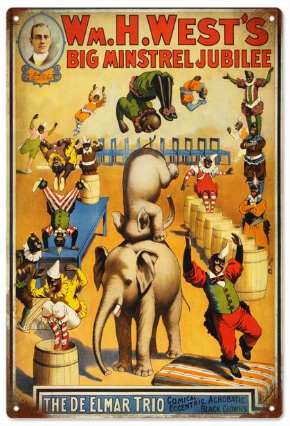 WM.H.West's Big Minstrel Jubilee Circus