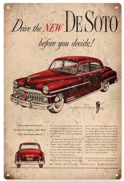 Drive The New DeSoto