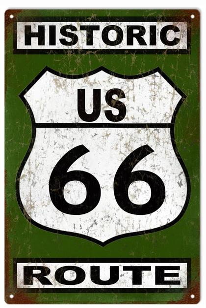 Historic US 66 Route