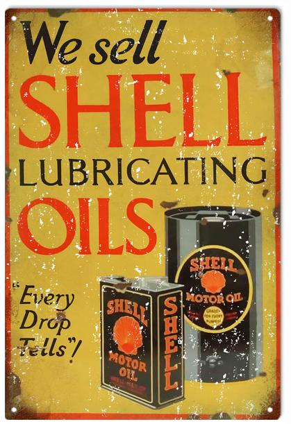 We Sell Shell Lubricating Oils