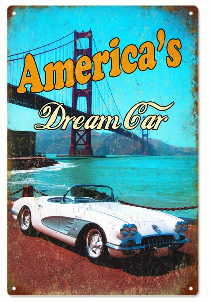 American's Dream Car - Chevrolet Corvette