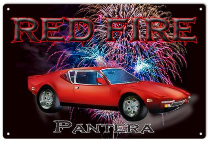 Red Fire Pantera