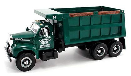 1960 model b-61 mack dump truck Arrowhead Concrete