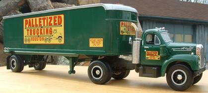 1960 Model B-61 Mack Palletized Trucking