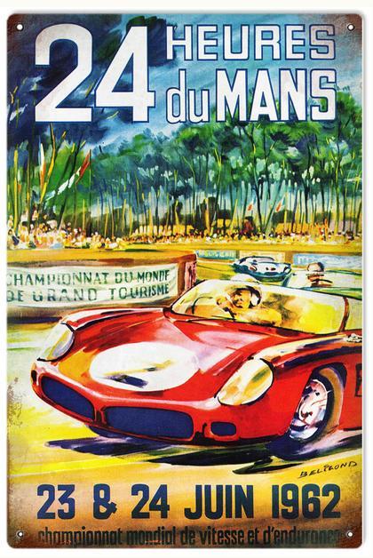 24 Heures Du Mans 23 & 24 Juin 1962