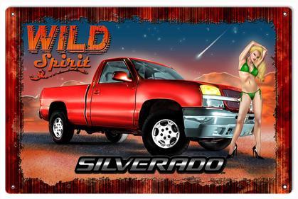 Wild Spirit Silverado Truck