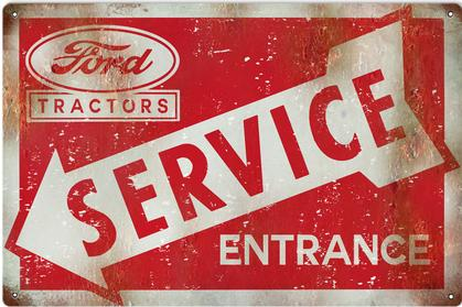 Ford Tractors Service Entrance