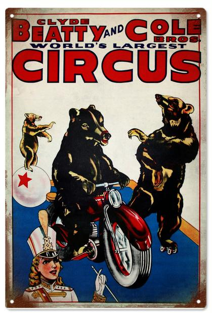 Clyde Beatty And Cole Bros Circus