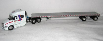 International ProStar with Flatbed Trailer - Boyd Bros.