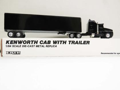 Kenworth T-600A with Dry box Trailer