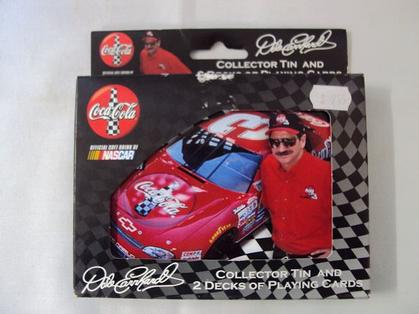 Collector Tin & 2 Decks of Playing Cards Dale Earnhardt Sr. #3