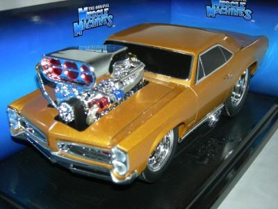 Muscle Machines Pontiac GTO 1966