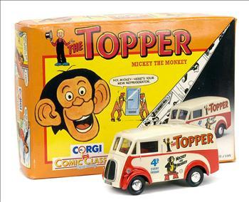 Morris J Van - Comic Classic - The Topper