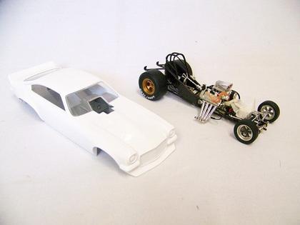 The Floppers - Nitro Funny Car - White Body