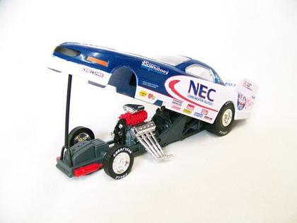 Gary Densham #9 1996 NEC JC Whitney Funny Car