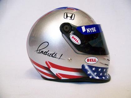 MIni Helmet Marco Andretti Indianapolis 500 2006
