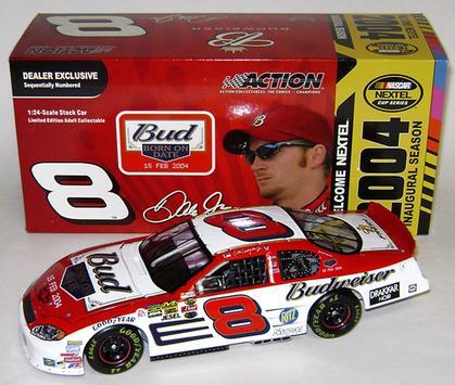 Dale Earnhardt Jr. #8 Budweiser / Nextel 2004 Monte Carlo