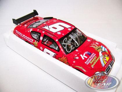 Kasey Khane #9 Sam Bass Holiday 2008 Charger Club Car