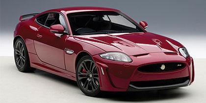 Jaguar XKR-S Italian red