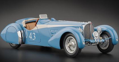 Bugatti 57 SC Corsica Sporting Coupe 1938