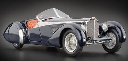 Bugatti 57 SC Corsica Roadster 1938