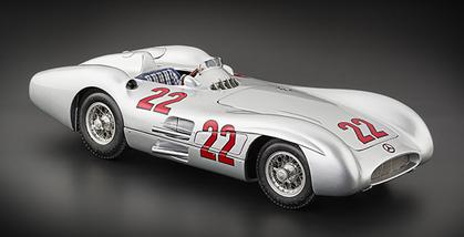 Mercedes-Benz W196R #22 Hermann 1954 Reims GP