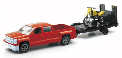Chevrolet Silverado 1500 Crew Cab With Motocross