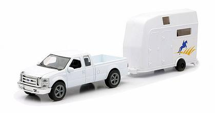Ford F-250 Super Duty With Trailer for Horse