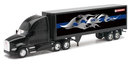 Kenworth T700 Dry Van Trailer W/ Graphic