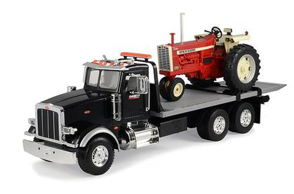 Farmall 1206 Tractor with Peterbilt 367 Straight Truck
