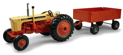 Case 730 Tractor with Wagon