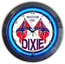 Neon Clock Dixie