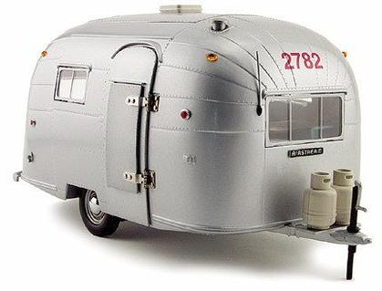 Airstream Aluminum Camper Trailer