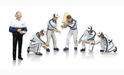 Pit Crew Figurines - Team Martini Racing