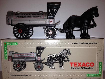 TEXACO HORSE AND TANKER LIMITED EDITION COLLECTOR'S