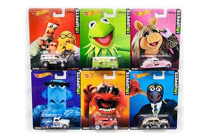 Set of 6 Cars