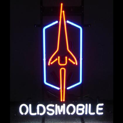 GM Oldsmobile Neon Sign