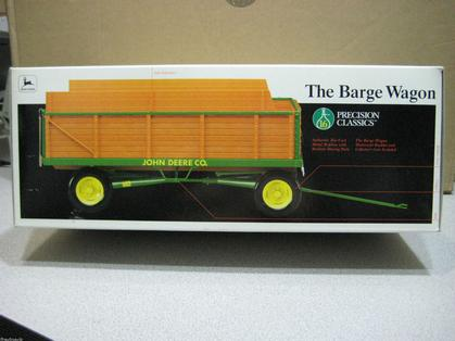 JD BARGE WAGON, PRECISION #16, BOX HAS WEAR