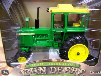 John Deere 4020 with Cab Tractor - 200th birthday
