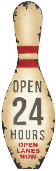 Bowling Pin - Open 24 Hours