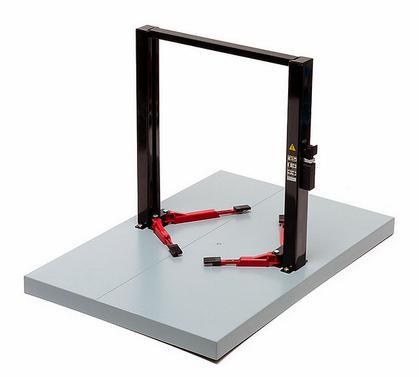 Black 2-Post Lift