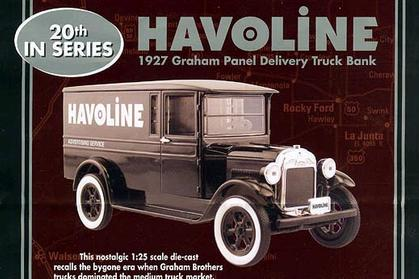 1927 Graham Panel Delivery Truck Bank
